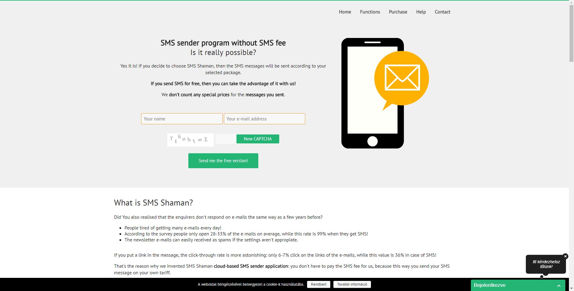 SMS sender software